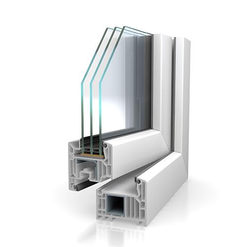 Softline 82 pour châssis des fenêtres et portes coulissantes