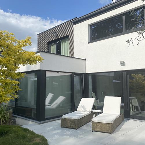 MASTERLINE 8 - Fenêtres innovantes tendances, contemporaines et isolation du haut niveau