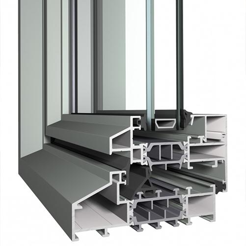 Slim Line 38 - Châssis pour portes et fenêtres fines
