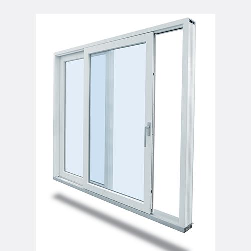 Système de portes levantes et coulissantes triple vitrage VEKA SLIDE 82
