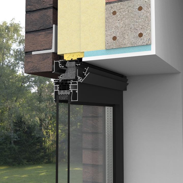 Aérateur acoustique et thermique Invisivent AIR LIGHT par Châssis Williams
