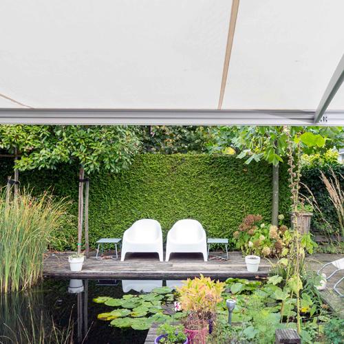 Protection solaire pour jardin