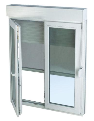 Fenêtres blanches avec volet monobloc par Châssis Williams