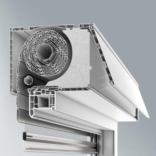 installation de système de volet monobloc par Châssis Williams