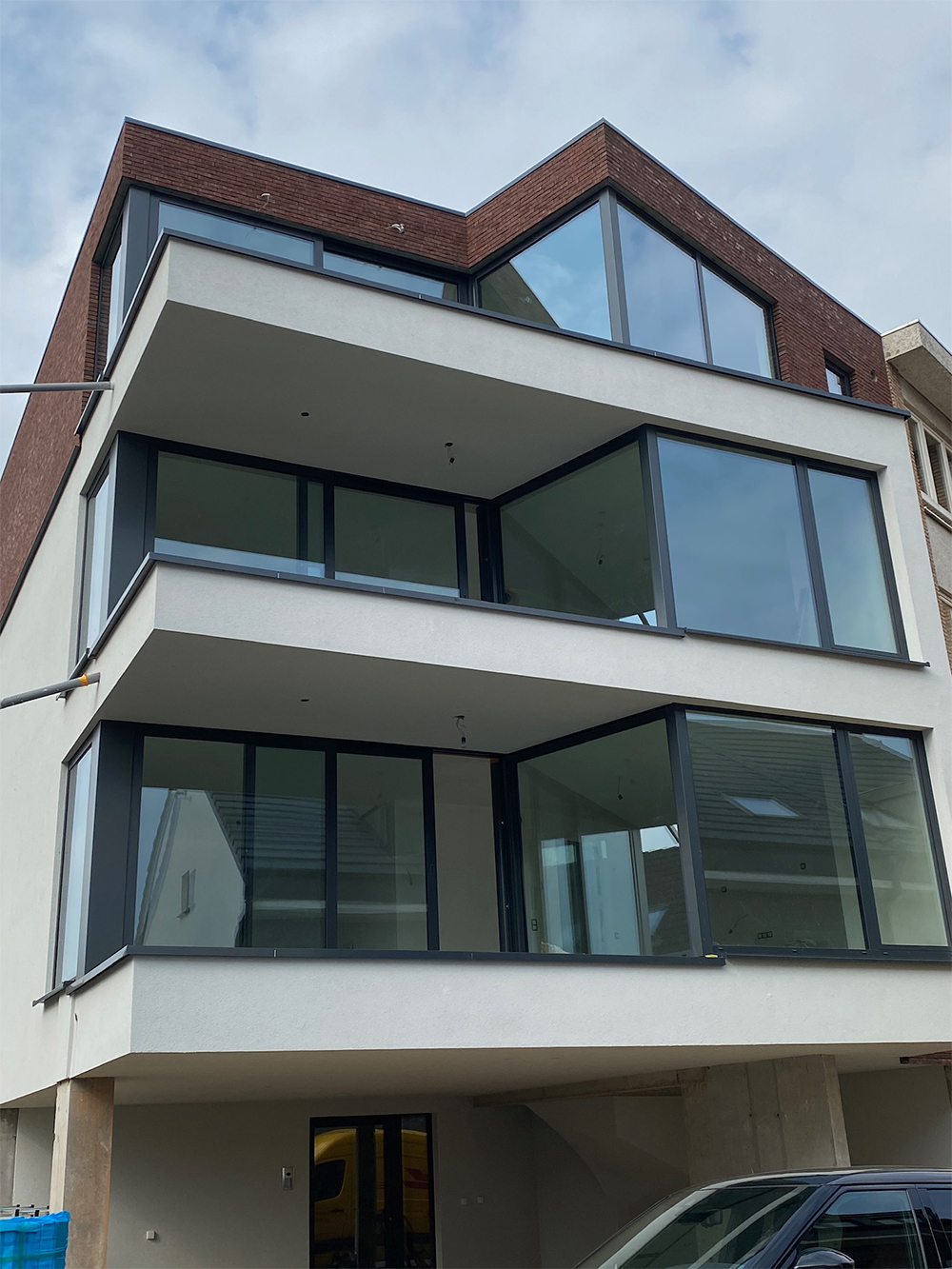 Immeuble châssis aluminium Wemmel